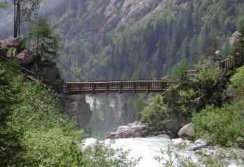 Ponte sul Pedruc Val Genova