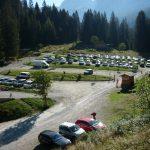 Parcheggio Vallesinella foto Enrico Povinelli