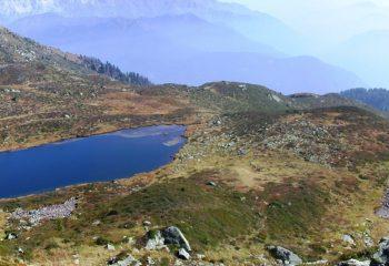Lago Valbona inferiore foto Michele Zeni