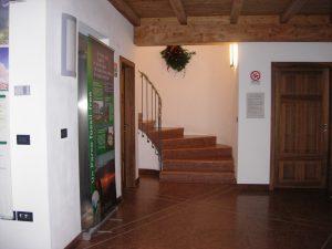 Villa Santi_scala interna