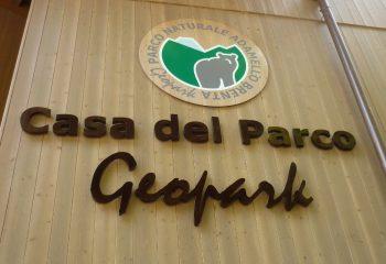 Casa del Parco Geopark esterno