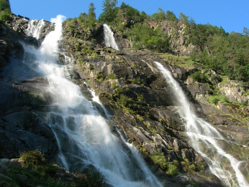Carisolo Nardis Wasserfälle Foto Mauro Binelli