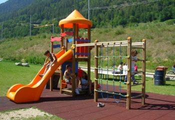 Commezzadura Parco Fluviale Mestriago giochi