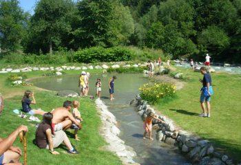 Commezzadura Parco Fluviale Mestriago laghetto