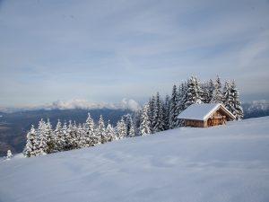 Ville d'Anaunia inverno