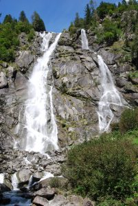 Cascate Nardis in Val Genova