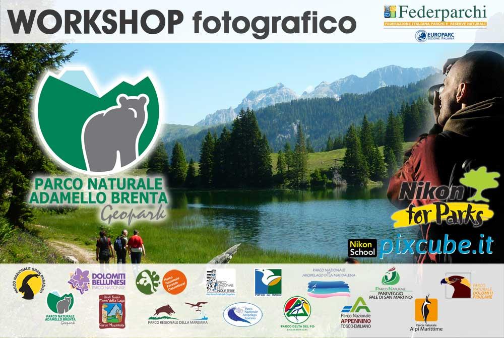 Workshop Fotografico nel Parco Naturale Adamello Brenta Geopark