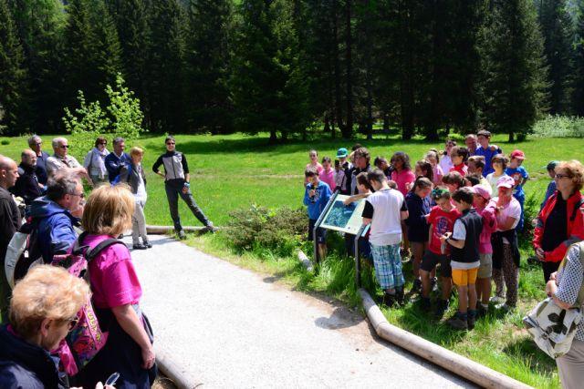 """Inaugurazione """"Un sentiero per tutti"""" in Val di Daone"""