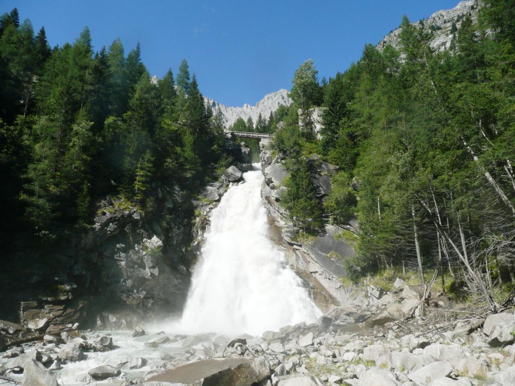 Cascata del Pedrùc foto Giuseppe Alberti