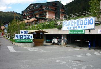 Accesso parcheggio Spinale foto Enrico Povinelli