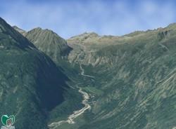 Visualizzazione 3D - Val Genova