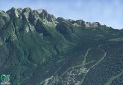 Visualizzazione 3D - Val Meledrio