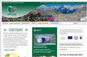 Screen shot del sito pnab 2007-2018