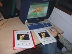 l'elaborazione della mappa (F.Zibordi)