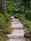 Manutenzione di un sentiero del Parco