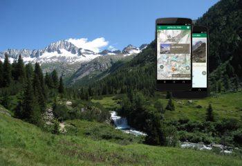 Nuova app del Parco Adamello Brenta