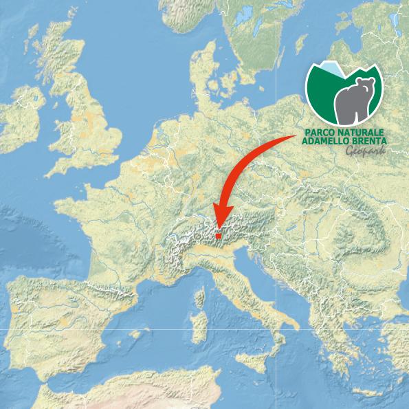 Mappa Europa ubicazione Parco