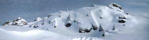 zona monte spinale paesaggio invernale