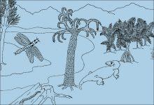Paleozoic (more than 300 Million years)