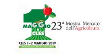 """23° Mostra Mercato dell'Agricoltura """"Maggio a Cles"""""""