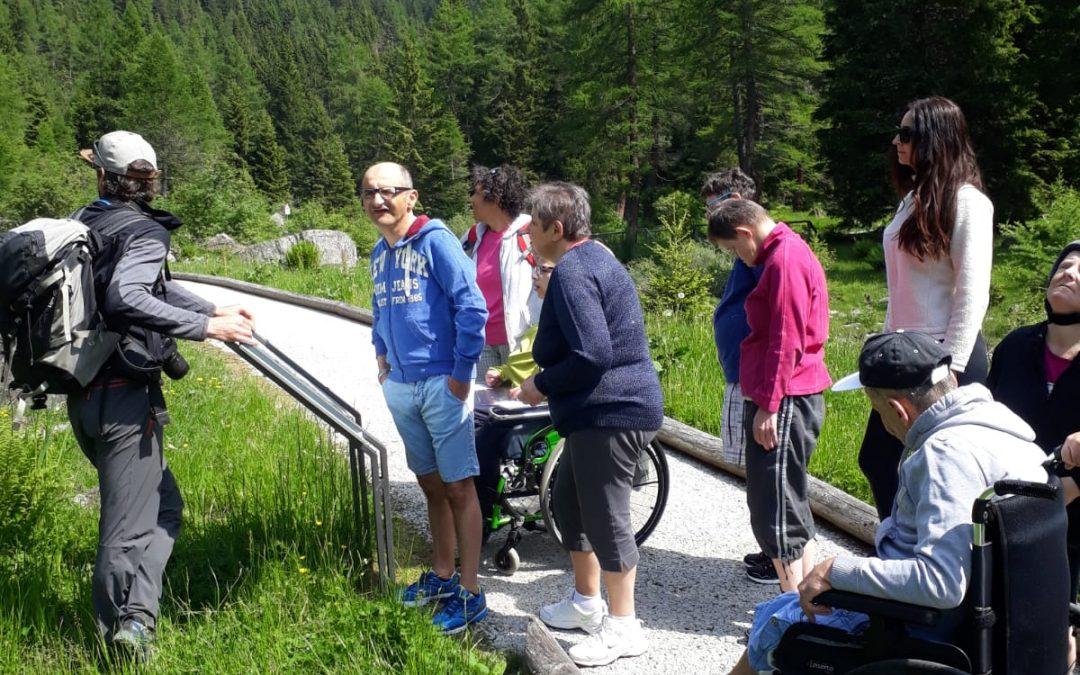 """La """"Bellezza"""" del Parco Adamello Brenta diventa sempre più """"Accessibile"""""""