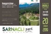 """Inaugurazione percorso """"Sarnacli Mountain Park"""" – Andalo"""