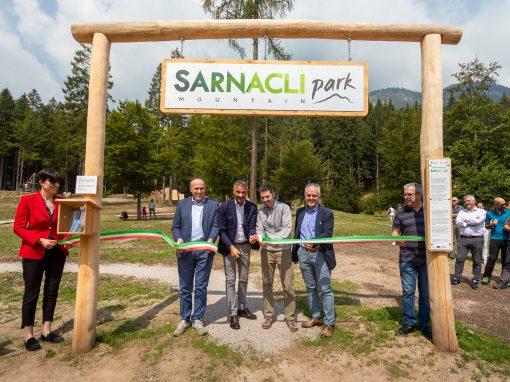 Inaugurato il nuovo Sarnacli Mountain Park di Andalo