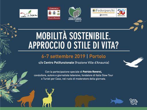 """Convegno Nazionale """"Mobilità sostenibile. Approccio o stile di vita?"""" – Portolo – 6 settembre"""