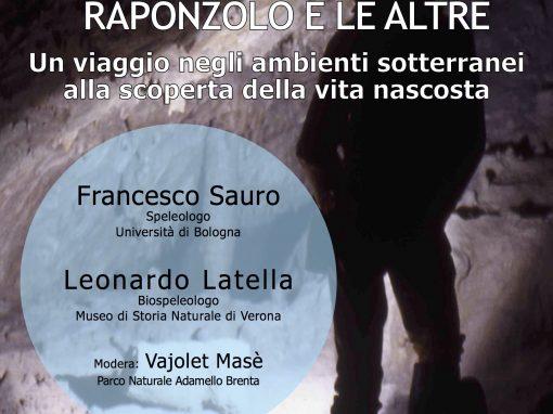 """I martedì del Parco. A Carisolo """"Le grotte archivi del tempo"""""""