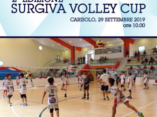 Domenica 29 settembre a Carisolo la Surgiva Volley Cup