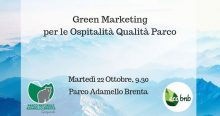 "2^ Workshop ""Green marketing per l'ospitalità Qualità Parco – CETS"""