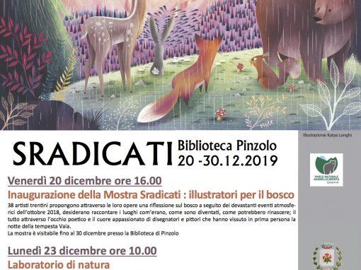"""""""Sradicati"""" in Biblioteca a Pinzolo dal 20 dicembre"""