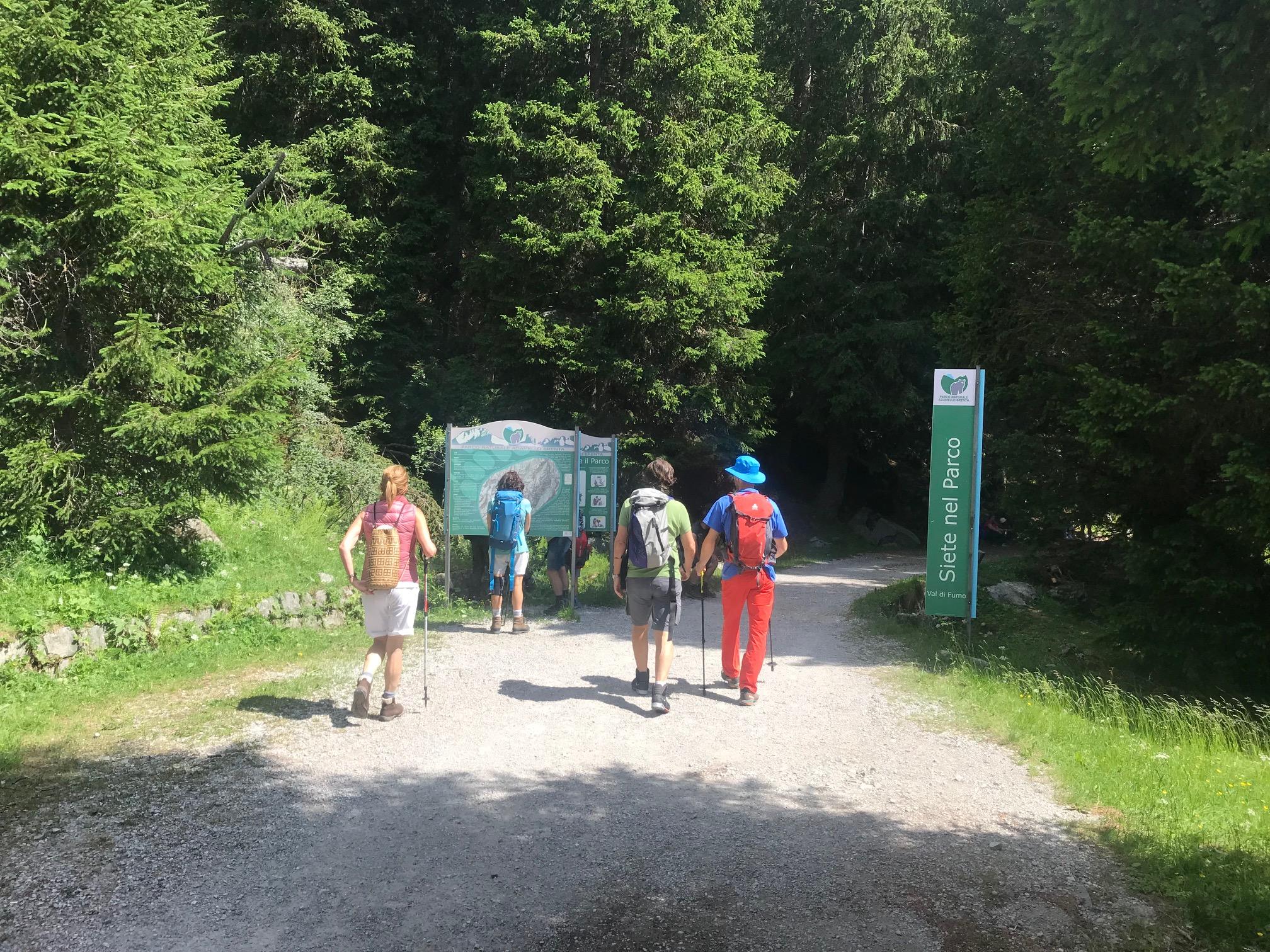 Sentiero Val di Fumo Trekking 2019