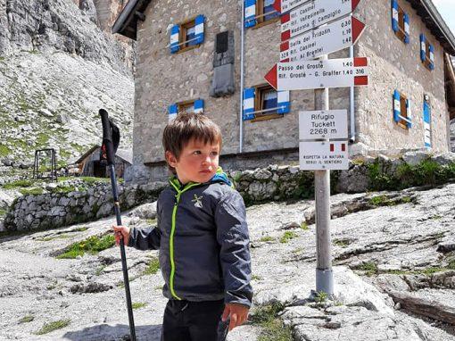 """""""Il Brenta spiegato a mio figlio"""" i primi 5 giorni"""