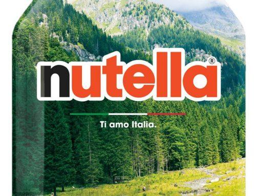 Anche il Parco sulla campagna #TiamoItalia di Nutella