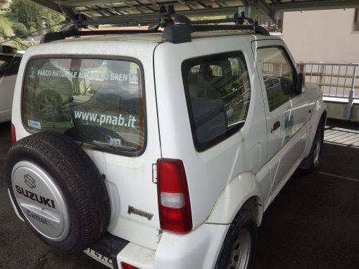 In vendita 4 auto del Parco. Offerte entro il 3 dicembre.