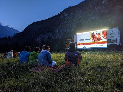"""Cinema solari sotto le stelle ad """"impatto 0"""": si parte lunedì 26 luglio a Malga Nudole."""